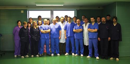 Osoblje Klinike za kirurgiju, ortopediju i oftalmologiju